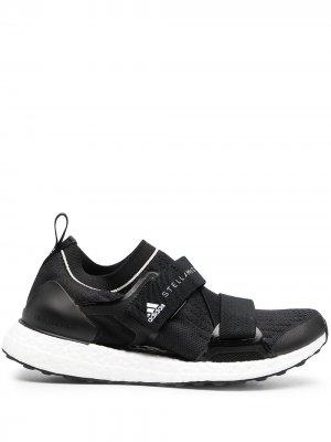 Кроссовки UltraBoost X adidas by Stella McCartney. Цвет: черный