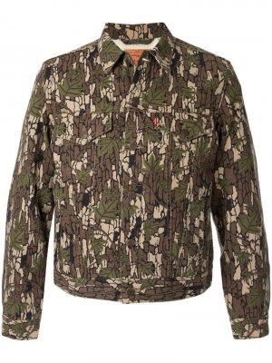 Куртка  x Levis Supreme. Цвет: разноцветный