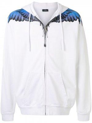 Спортивная куртка Wings Marcelo Burlon County of Milan. Цвет: белый