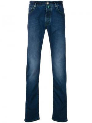 Облегающие джинсы Jacob Cohen. Цвет: синий