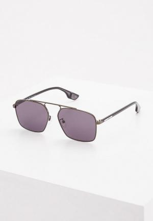 Очки солнцезащитные McQ Alexander McQueen. Цвет: серый
