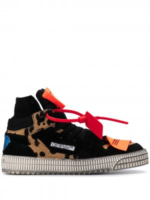 Кеды Pony 3.0 Court Off-White. Цвет: черный
