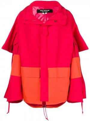 Oversized cape Junya Watanabe. Цвет: красный