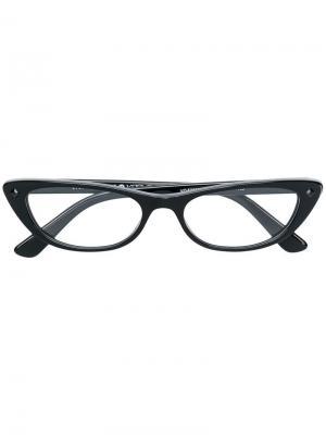 Очки Gigi Hadid for Vogue Eyewear. Цвет: черный