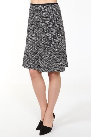 Юбка Diane von Furstenberg. Цвет: черно-белый
