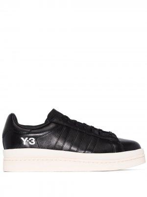 Кеды на шнуровке Y-3. Цвет: черный