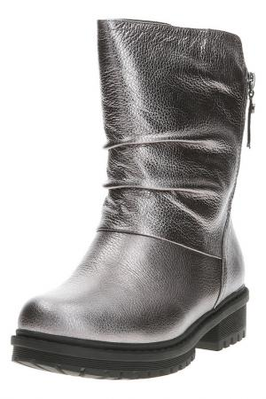 Ботинки TERVOLINA. Цвет: серебро