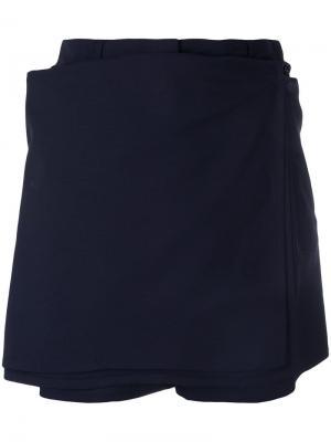 Шорты-юбка Jean Paul Gaultier Pre-Owned. Цвет: синий