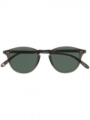 Солнцезащитные очки Hampton Garrett Leight. Цвет: черный