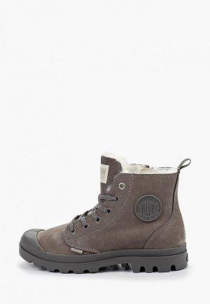 Ботинки Palladium. Цвет: серый