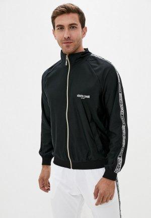 Олимпийка Roberto Cavalli Sport. Цвет: черный