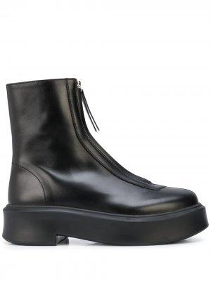 Ботинки на молнии The Row. Цвет: черный