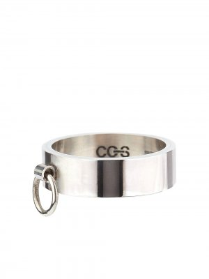 Серебряное кольцо Knock CC-Steding. Цвет: серебристый