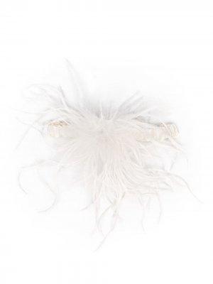 Подвязка Esme Gilda & Pearl. Цвет: белый
