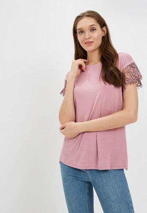 Блуза United Colors of Benetton. Цвет: розовый