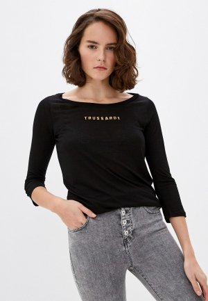 Лонгслив Trussardi Jeans. Цвет: черный