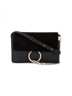 Маленькая сумка на плечо Faye Chloé. Цвет: черный