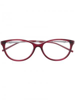 Очки кошачий глаз Pierre Cardin Eyewear. Цвет: красный