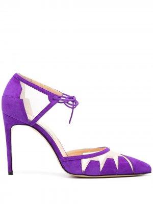 Туфли Lana с заостренным носком Bionda Castana. Цвет: фиолетовый