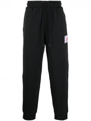 Спортивные брюки с логотипом Jordan. Цвет: черный