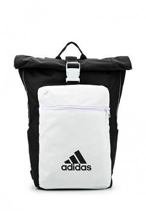 Рюкзак adidas Performance. Цвет: черно-белый