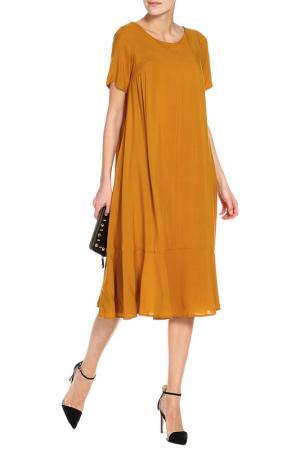 Платье Alina Assi. Цвет: горчичный
