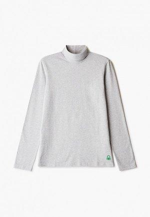 Водолазка United Colors of Benetton. Цвет: серый