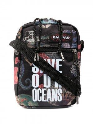 Сумка-мессенджер Save our Oceans Eastpak. Цвет: черный