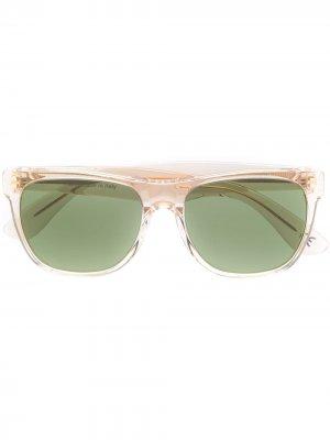 Классические очки Retrosuperfuture. Цвет: нейтральные цвета