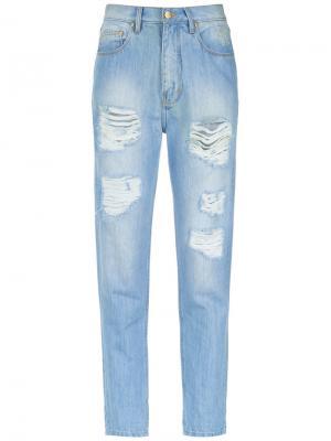 Boyfriend jeans Amapô. Цвет: синий