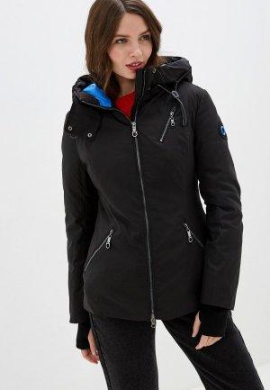 Куртка утепленная Malinardi. Цвет: черный