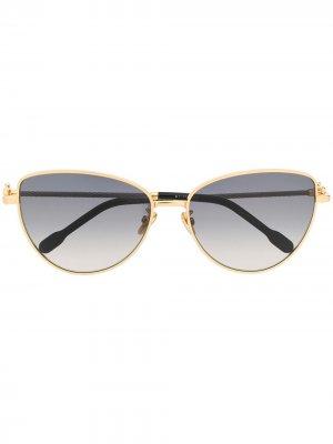 Солнцезащитные очки Fred. Цвет: золотистый