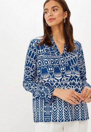 Блуза Camomilla Italia. Цвет: синий