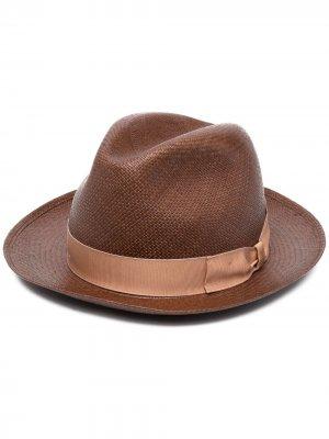 Шляпа-федора Quito Borsalino. Цвет: коричневый