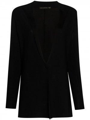 Однобортный пиджак Alled-Martinez. Цвет: черный
