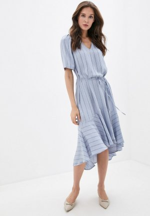 Платье Twist & Tango. Цвет: синий