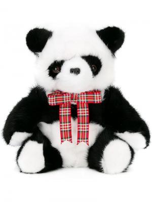 Игрушка-панда Liska. Цвет: черный