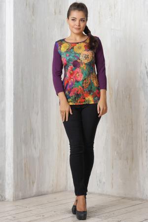 Блузка VAY. Цвет: фиолетовый