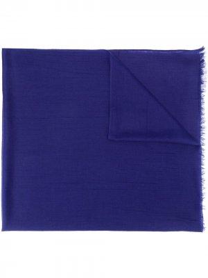 Легкая кашемировая шаль N.Peal. Цвет: синий
