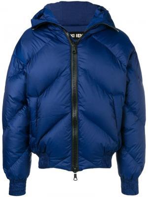 Утепленная куртка Ienki. Цвет: синий