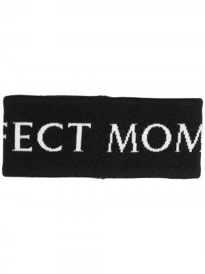 Повязка на голову с логотипом Perfect Moment. Цвет: черный