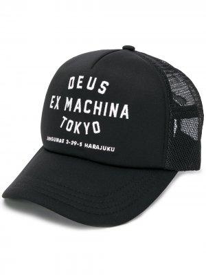 Кепка с логотипом Tokyo Deus Ex Machina. Цвет: черный