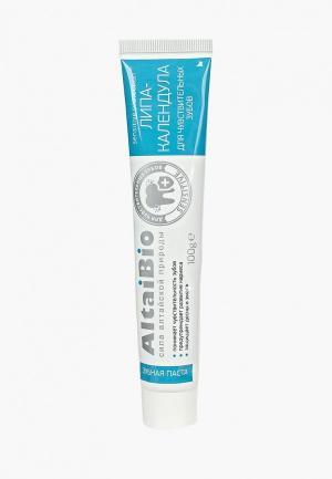 Зубная паста Две Линии. Цвет: белый