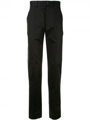 Строгие брюки с завышенной талией Cerruti 1881. Цвет: черный
