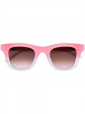 Солнцезащитные очки Creepers из коллаборации с Local Authority Thierry Lasry. Цвет: розовый