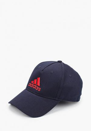 Бейсболка adidas. Цвет: синий