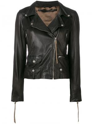 Seattle biker jacket Munderingskompagniet. Цвет: черный