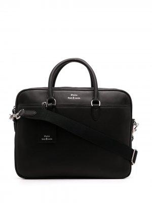 Сумка для ноутбука Polo Ralph Lauren. Цвет: черный