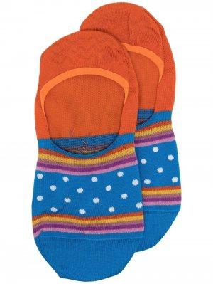 Носки вязки интарсия PS Paul Smith. Цвет: синий