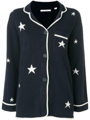 Кардиган со звездами Chinti & Parker. Цвет: синий
